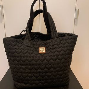 Brighton Heart Collection Large Black Tote